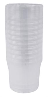 EMMER ROND MET DEKSTEL 520 ML 10 ST