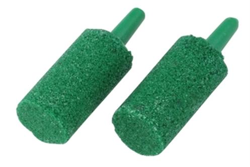 EBI UITSTROOMSTEEN GROEN 1,5X2,5 CM 2 ST