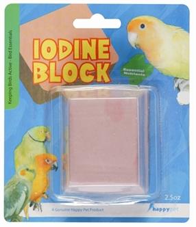 HAPPY PET IODINE BLOCK LARGE 6,5X5,5X3 CM