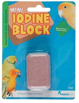 HAPPY PET MINI IODINE BLOCK 4X3X2 CM